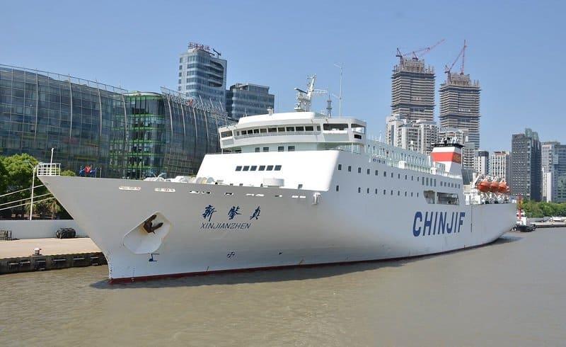 A Heavy Ship Moored
