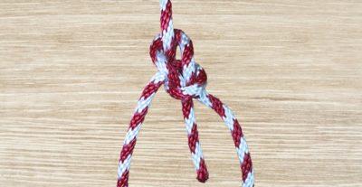 Bowline Knot Step 7