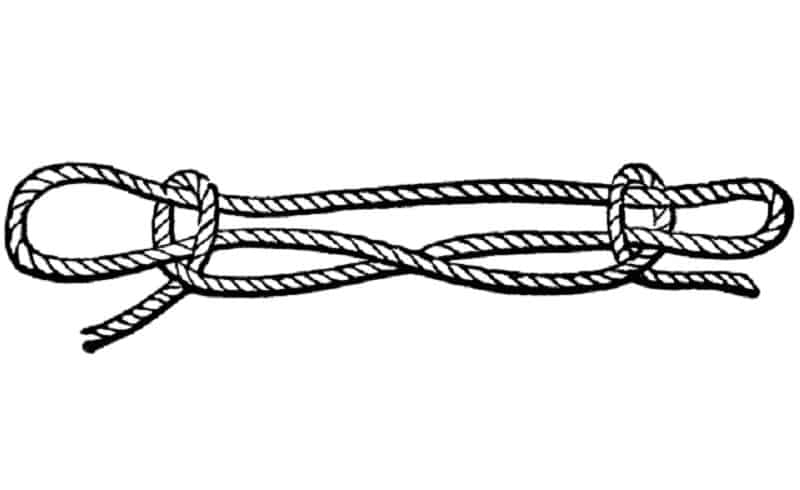 How To Tie A Sheepshank Knot