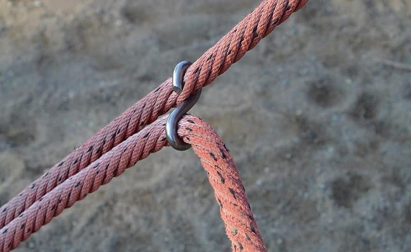 Two Ropes Being Pulled For Rope Strength