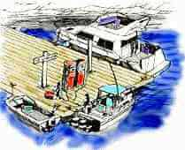 boating safety course fueling graphic