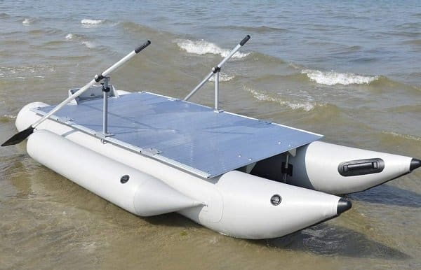 Aquos PF380 FISHME Heavy Duty Inflatable Pontoon