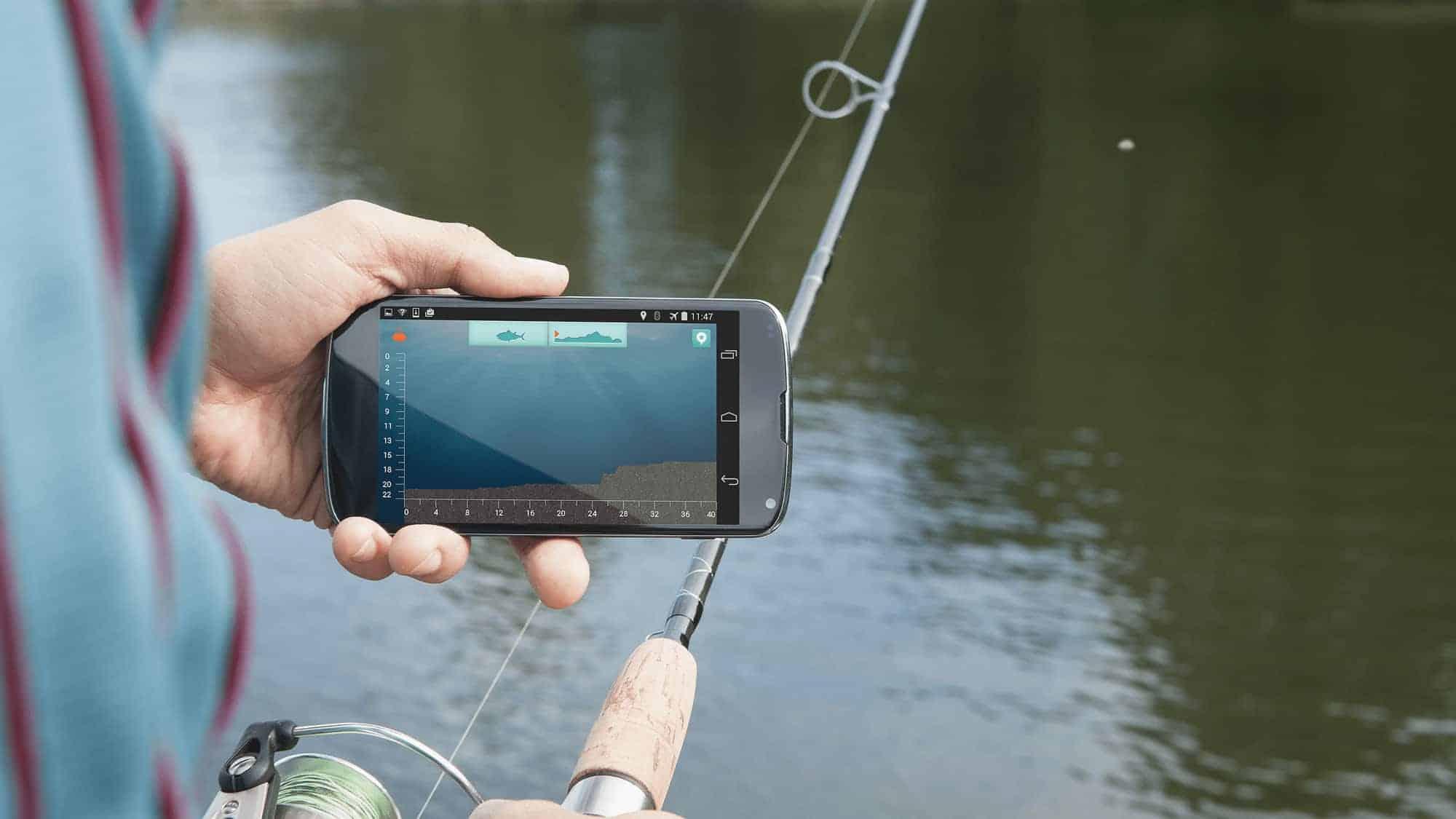 Castable portable fish finder