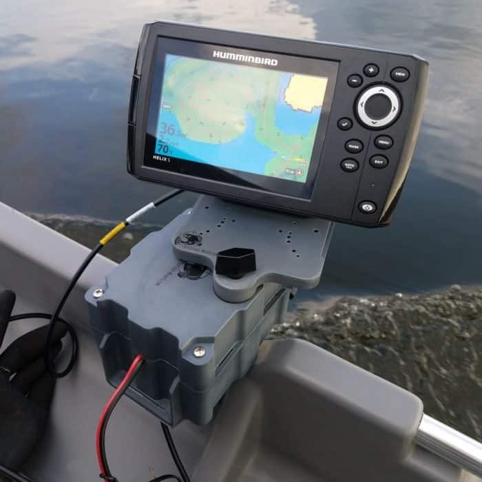 Mountable portable fish finder