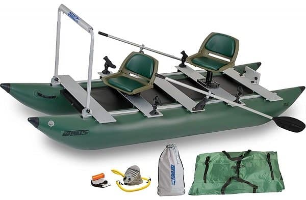 Sea Eagle 375fc FoldCat Inflatable Fishing Pontoon