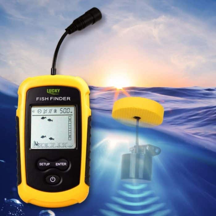 Transducer and Fish Finder