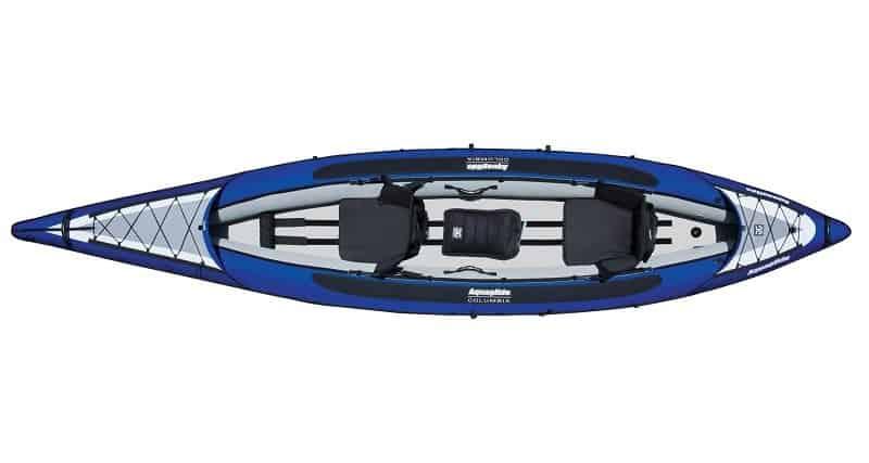 Aquaglide Columbia XP 145 XL Tandem Inflatable Kayak