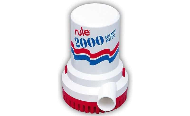 Rule 2000 Non-Automatic Pump