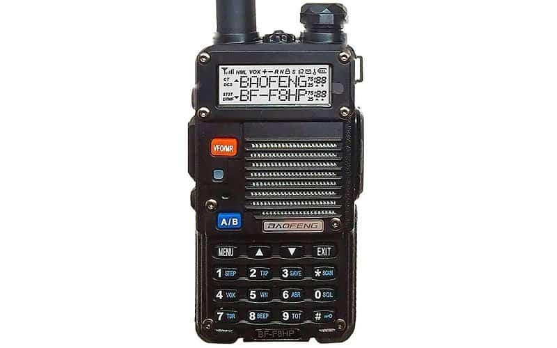Baofeng BF-F8HP Handheld Radio