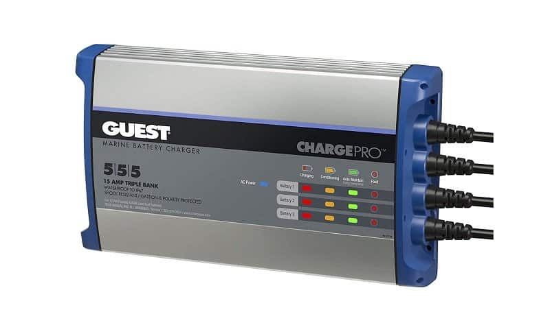 Guest Charge Pro 555 3-Bank Charger