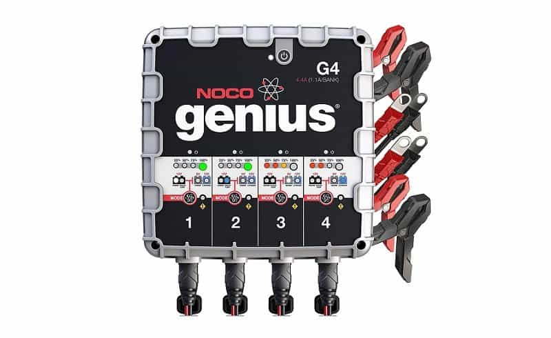 Noco Genius G4 4-Bank Marine Battery Charger