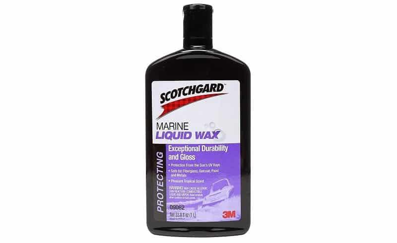Scotchgard Marine Protective Liquid Wax