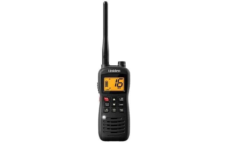 Uniden MHS126 Handheld Submersible VHF Marine Radio