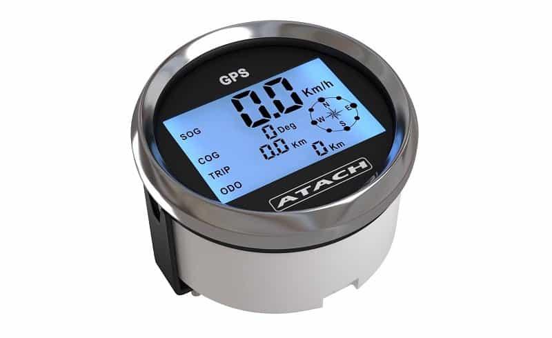 AndyTach ATACH Digital GPS Marine Speedometer