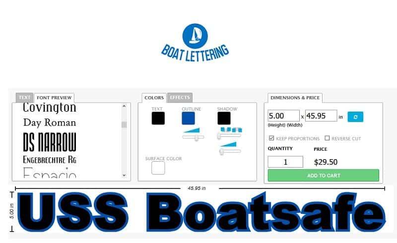 Boatlettering
