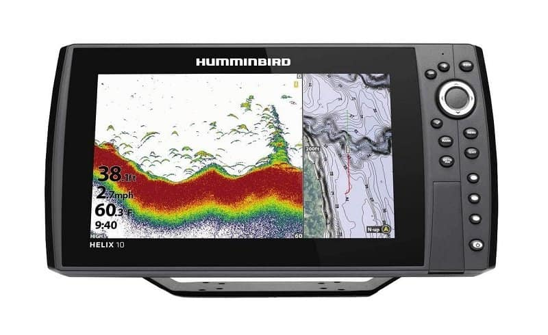 Humminbird Helix 10 G3N Fish Finder with Chirp
