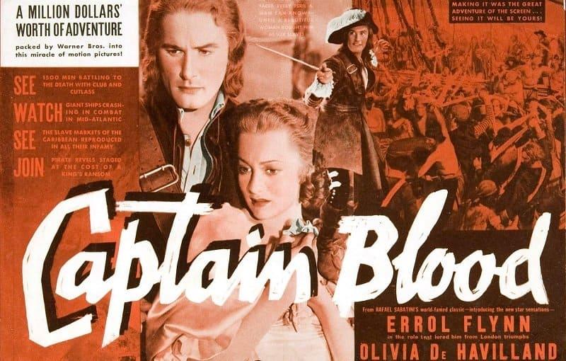 Captain Blood Errol Flynn Poster