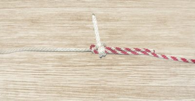 Double Sheet Bend Knot Step 8