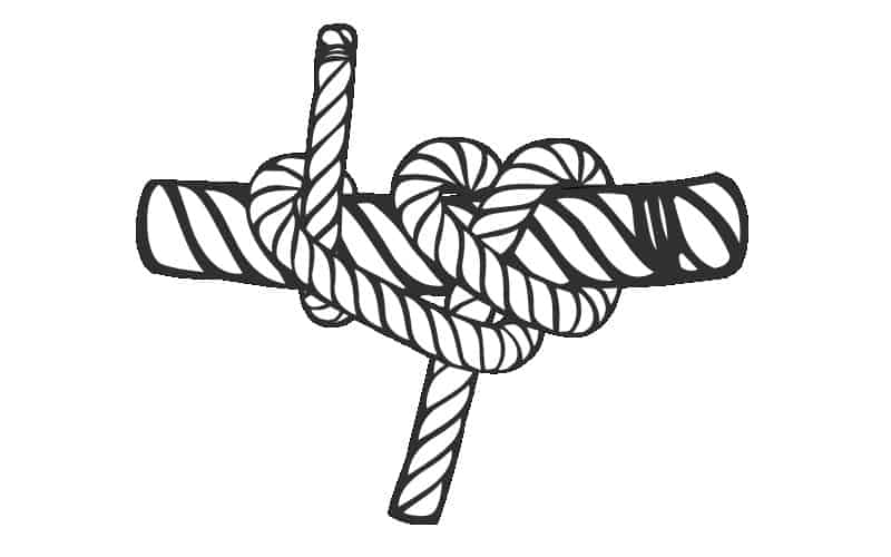 How To Tie A Rolling Hitch Knot