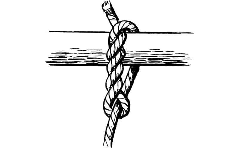 How To Tie A Timber Hitch Knot