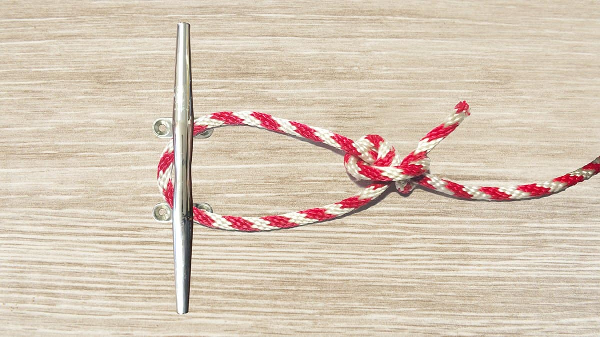 Midshipman's Hitch Knot Step 7