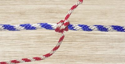 Rolling Hitch Knot Step 10