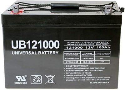Universal Power Group 12V Battery