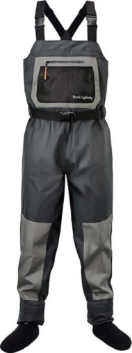 Dark Lightning Breathable Insulated Chest Waders