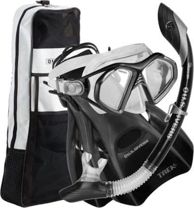 U.S. Divers Admiral Snorkeling Set
