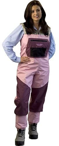 Caddis Women's Pink Breathable Waders