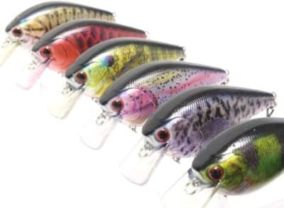 wLure Minnow Crankbait for Bass Fishing