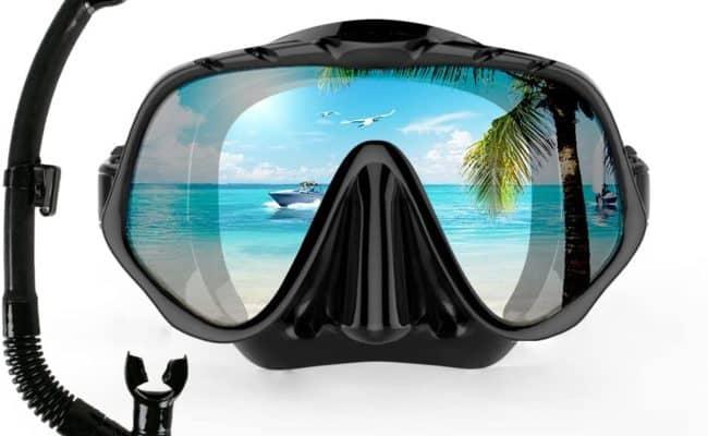 COPOZZ Dry Snorkel Mask Set