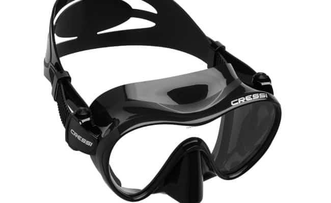 Cressi F1 Frameless Scuba Diving Mask