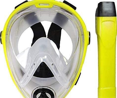 Deep Blue Gear Vista Vue Full Face Snorkeling Mask