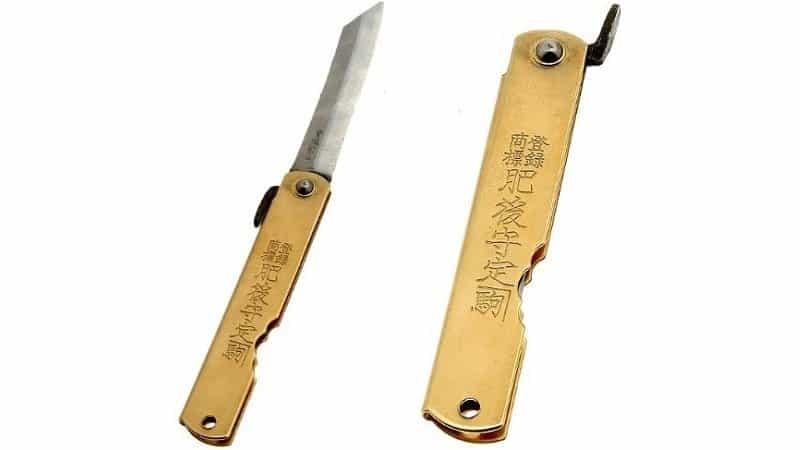 Higonokami pocket knife