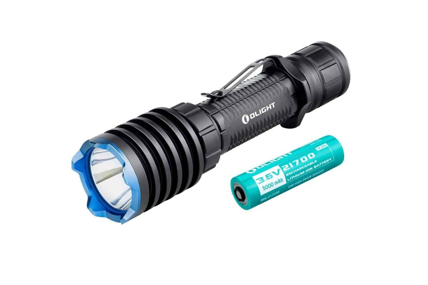 OLIGHT Warrior X Pro 2250 Lumens Neutral White USB Magnetic Rechargeable Tactical Flashlight