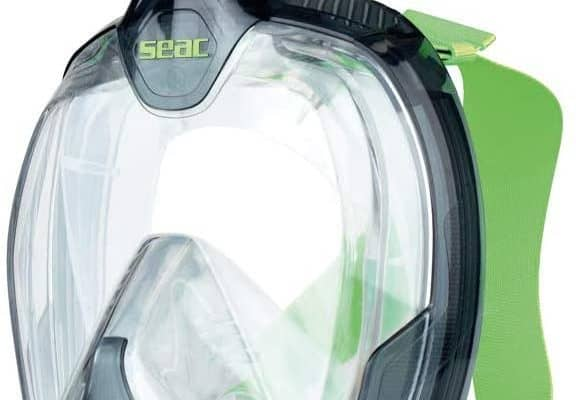 SEAC Unica Full Face Snorkel Mask & Bag