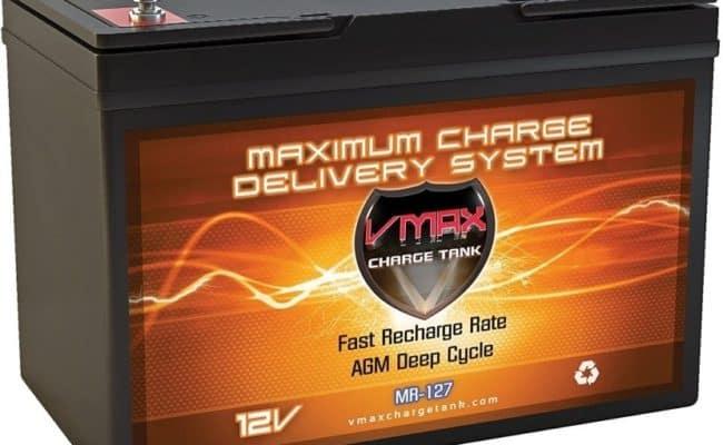 VMAX MR127 12V Deep Cycle Battery