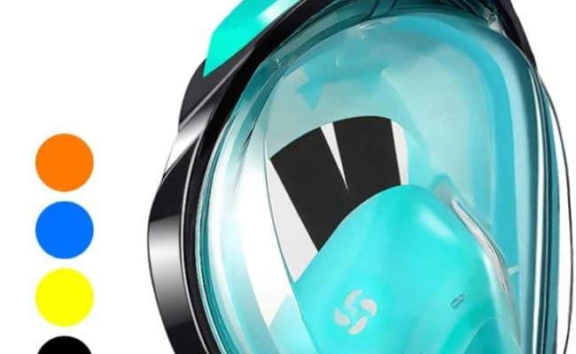 WSTOO Full Snorkel Face Mask