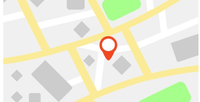 GPS Map Location Pin