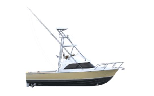Bertram 35 Flybridge Sportfish