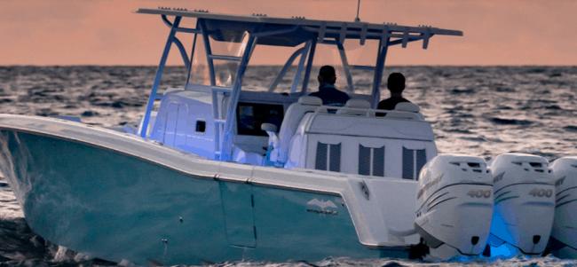 Invincible Boats 42' Center Cabin