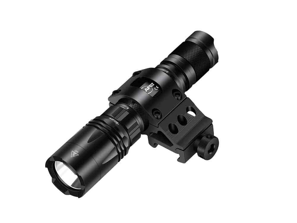 MIKAFEN Tactical Flashlight 1200 Lumens LED Weapon Light