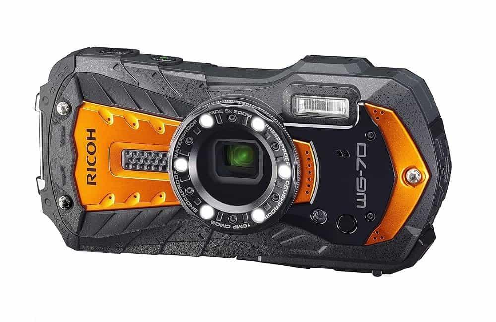 Ricoh WG-70 Waterproof Camera