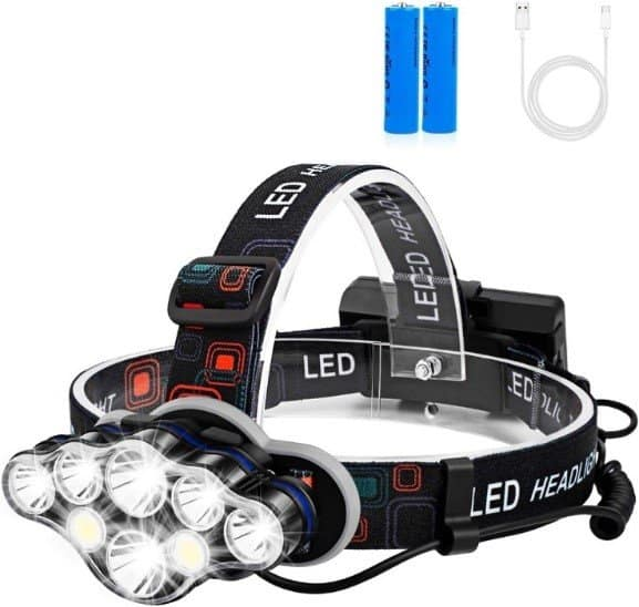 Foxdott 8 LED Headlamp
