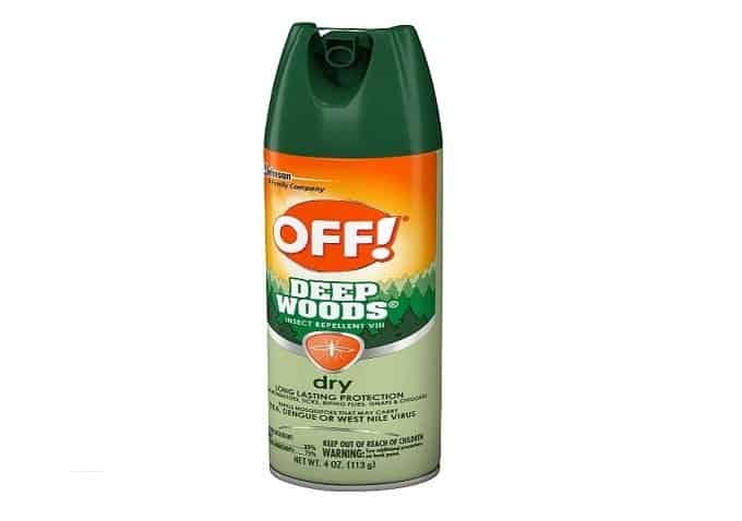 OFF! Deep Woods Insect Repellant VIII
