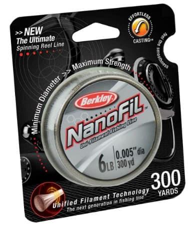 Berkley NanoFil Uni-Filament Fishing Line – Best Ultra-light