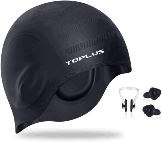 Best Comfort Swim Cap- TOPLUS Swim Cap