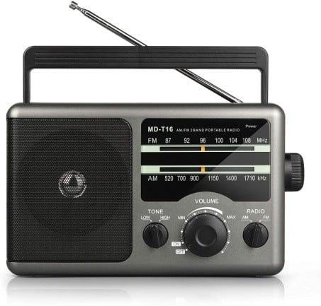 Greadio AM FM Portable Radio Transistor