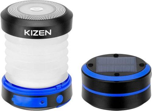 Kizen Solar Powered LED Camping Lantern